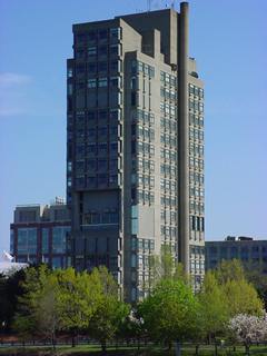 BU Law Tower