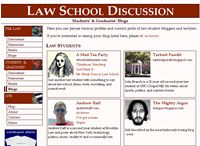 law school discussion blog links page