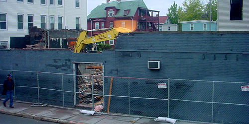 ManRay Nightclub Demolition